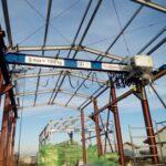 Pod rulant rezemat cu electropalan cu lanț
