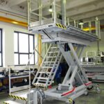 Mese hidraulice, de mare capacitate și schele de lucru hidraulice