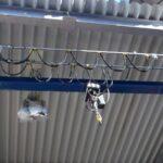 Pod rulant suspendat electropalan cu lanț
